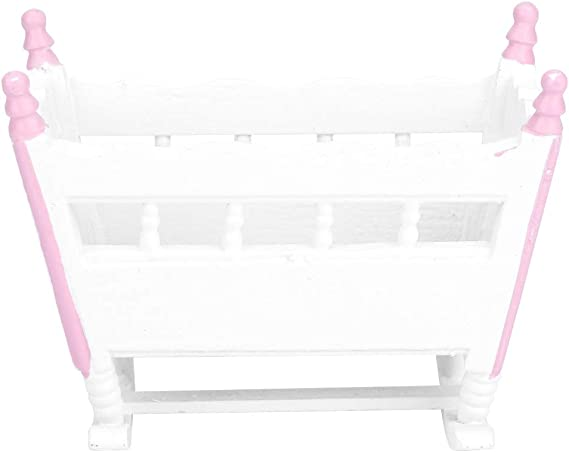 Miniature dolls house accessories Baby Girl bedroom Mat with Fringe 1//2th scale