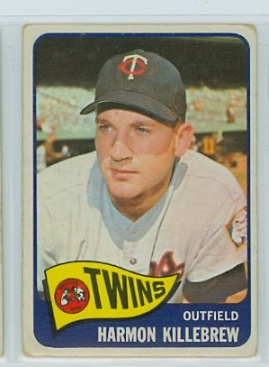 1965 Topps #400 Harmon Killebrew Minnesota Twins Baseball Card Verzamelkaarten: sport Verzamelkaarten, ruilkaarten