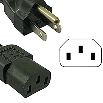 [UL Listed] Power Cord for Elite Platinum Multi-Function Pressure Cooker Models such as EPC-607, EPC-686, EPC-808SS, EPC-808(A-Z)