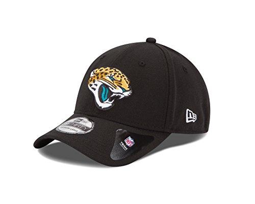 (New Era NFL Team Classic 39THIRTY Stretch Fit Cap, Black, Medium/Large)