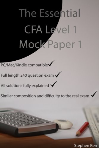The Essential CFA Level 1 Mock Paper 1
