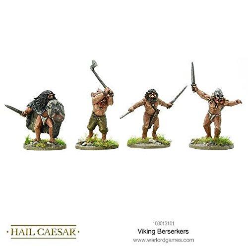 Warlord Games, Hail Caesar - Viking Berserkers - Wargaming miniatures by hail caesar