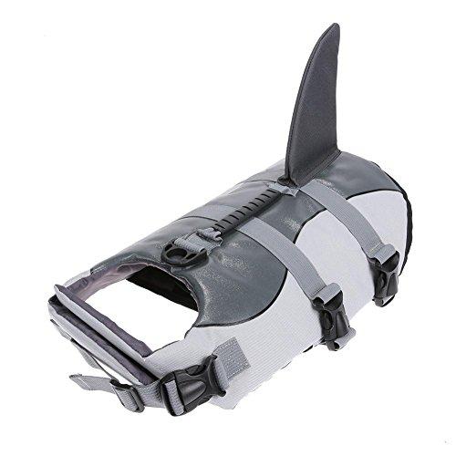 Lightweight Affordable Pet Safety Vest Dog Life Jacket Swimming Preserver Clothes Size S/M/L
