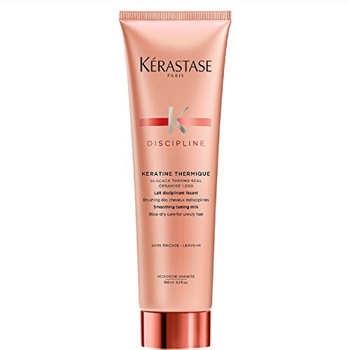 Kerastase Discipline Keratine Thermique Smoothing Taming Milk Anti-Frizz, 5.1 Ounce (Treatment Finishing Balm)