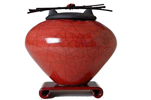 Keepsake or Pet Urn (Red) ()