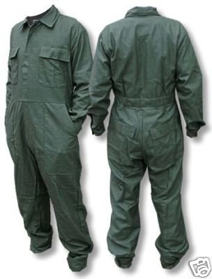 Amazon.com   USA Military Cotton Sateen OD Green Coveralls Mens ... a643034dc38