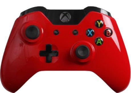 sy Red Custom Xbox One Controller ()