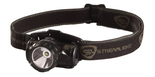 Streamlight 61400 Enduro Impact Resistant Headlamp, Elastic Strap, Black, Outdoor Stuffs