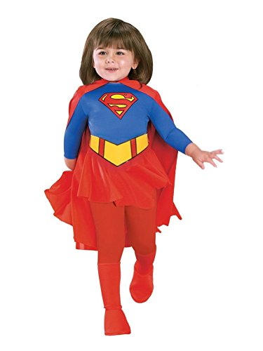 Rubie's Deluxe Supergirl Costume For Toddler
