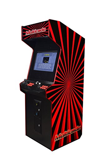 Professionally Made Commercial Quality LED JAMMA Ready Two Player Tornado Arcade Cabinet. Plug and Play Any Horizontal JAMMA Board! by Proarcades, LLC