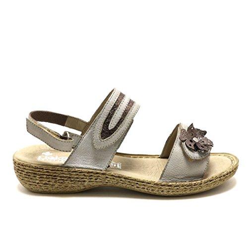 Rieker Women's Fashion Sandals Gray qdpGYJh