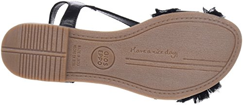 45268 Open Sandals Black Toe Women's Gioseppo Black 5z0qU5