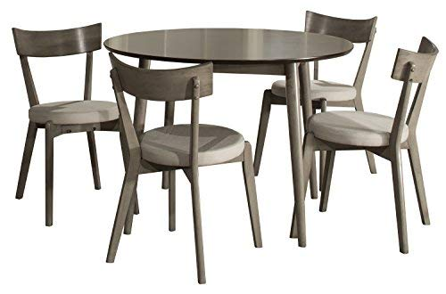 Hillsdale Furniture 4552DT5C2 Hillsdale Mayson 5 Piece Dining Set, Gray