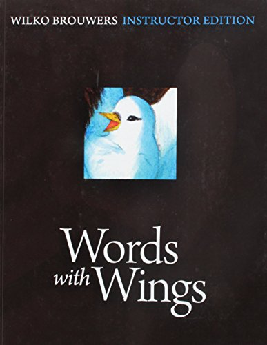Words with Wings, Instructor (Words With Wings)