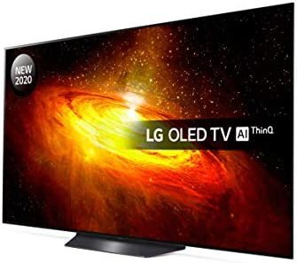 LG OLED65BX6LB 65 inch UHD 4K HDR Smart OLED TV with Freeview HD/Freesat HD – Black colour (2020 Model) [Energy Class A]