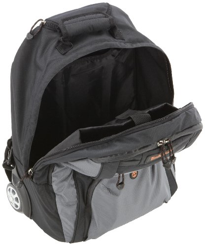 "Timberland Unisex Adult 18"" Wheel Duffle Travel Bag Black J0619001 Negro (Black)"