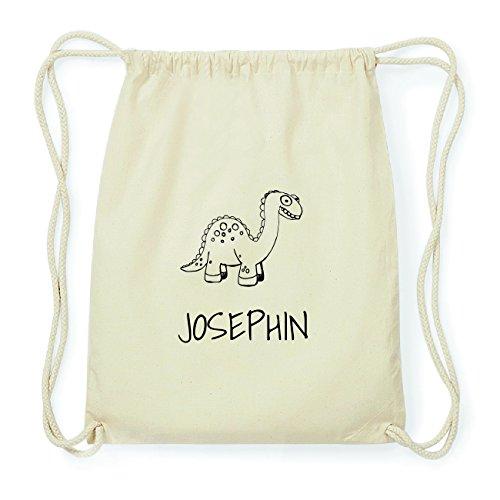 JOllipets JOSEPHIN Hipster Turnbeutel Tasche Rucksack aus Baumwolle Design: Dinosaurier Dino H0hf6