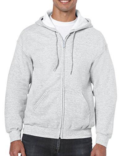 �Gildan Adult Heavy Blend� Full-Zip Hooded Sweatshirt (Ash) - Sweatshirt Hooded 2008
