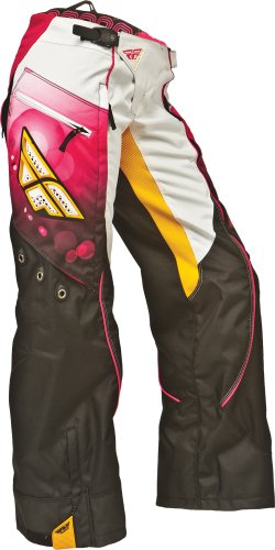 2014 FLY Kinetic Race OverBoot Girl's Motocross Pants - Pink - - Overboot Kinetic