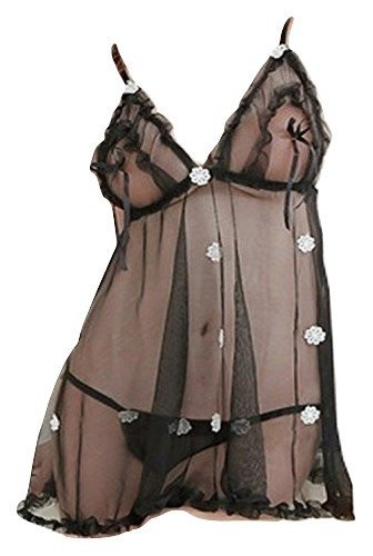 0d4d7d2a09 Madhosh Fashion Sexy Honeymoon Lingerie for Women Ladies and Girls  Nightwear Net Babydoll Dress Sleepwear