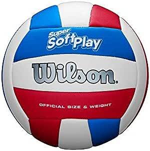Wilson WTH90219XB Pelota de Voleibol Super Soft Play Cuero ...