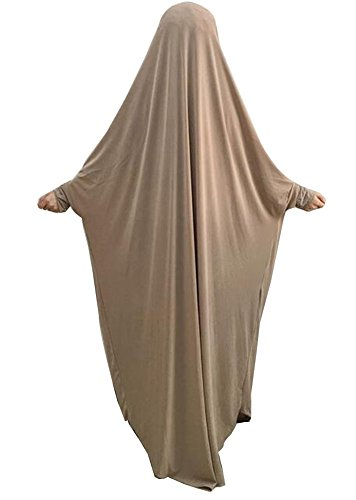 Price comparison product image Hijab Headscarf Fashion Head Shawls Muslim Dress [Beige]