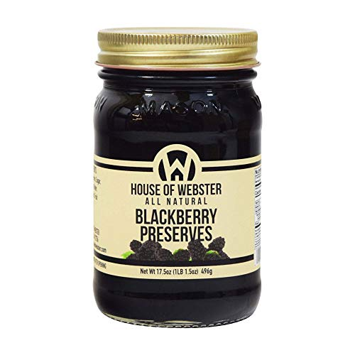 House of Webster All Natural Wild Blackberry Seedless Preserves 17.5 oz