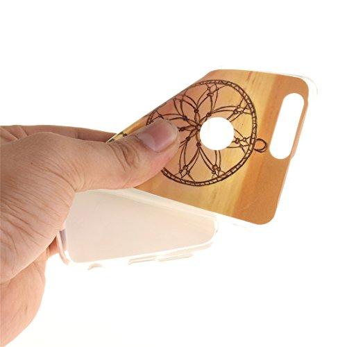 Cas De 8 Résistant Antichoc Fit Peint Dreamcatcher En Motif TPU Couverture Silicone Protection Téléphone Hozor De Transparent Arrière Scratch Slim Bord Honor Souple Huawei Cas RxawaTqA