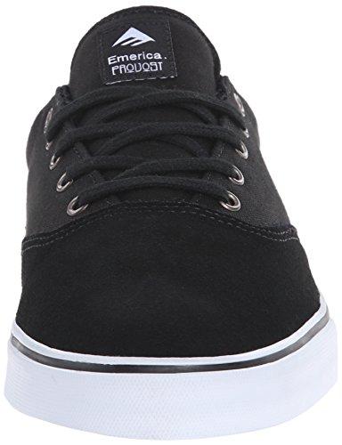 Emerica Provost Slim Vulc Chaussure De Skate Noir / Blanc