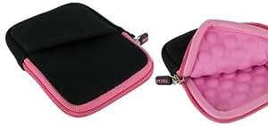 rooCASE Super Bubble Neoprene (Pink / Black) Sleeve Case for Sony Cyber-shot Digital Camera DSC-TX20 TX66 TX200V WX50 WX70 WX150 W610 W620 W650 W690
