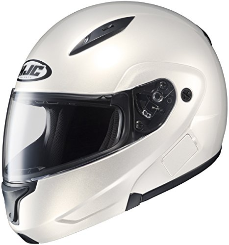 HJC CL-MAX CLMAX FLIP-UP 2 PEARL WHITE SIZE:3XL Motorcycle Full-Face-Helmet