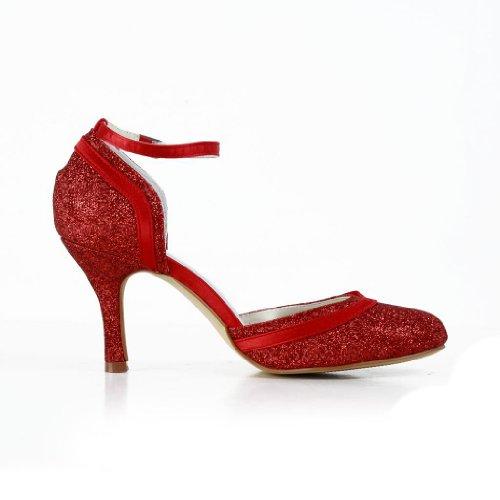 Escarpins JIA Rouge Wedding mariage mariée chaussures pour JIA femme de A31B24 d14xpw4q0
