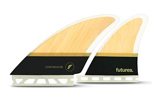 Futres Fins Controller Quad Surfboard Fin Set - Fiberglass / Bamboo by Futures