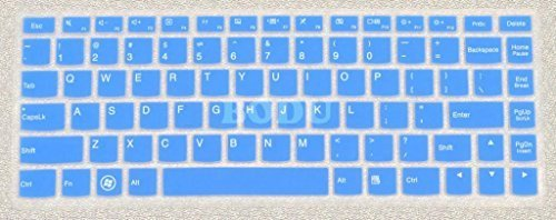 Bodu Colored Silicone Keyboard Cover Protector Skin for Lenovo B4400A B4400S B4450S M30 M4400 M4400A M4400S M490S IdeaPad S300 S310 S400 S400T S405 S410 S415 S415T IdeaPad U300S U310 U330P U330T U400 U410 U430 U430T V4400 V4400U Yoga2 Pro 13 M30,S40-70,M40-70,i1000,S410A,S436,U31-70(Blue)