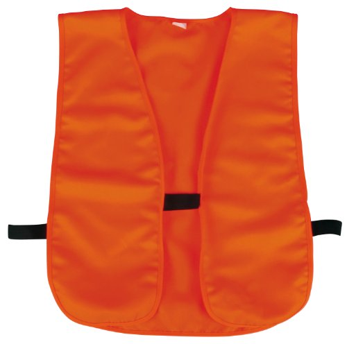 Mossy Oak Outdoor Cap Blaze Knit and Vest, 1 Unit, Blaze Orange ()