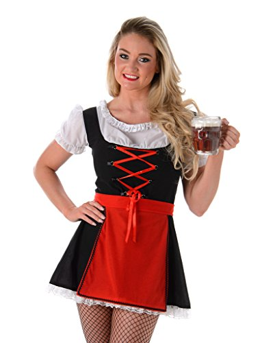Women's Sexy Bavarian Girl Costume - Halloween (M)