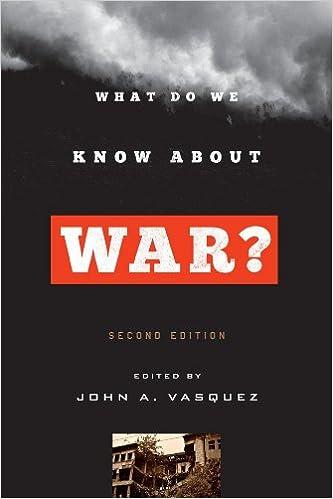 Libros De Cocina Descargar What Do We Know About War? De PDF A PDF