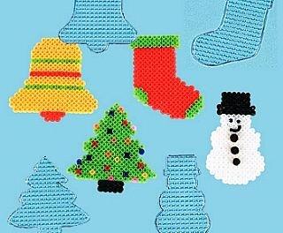 Christmas Hama Beads.12 Christmas Midi Hama Bead Boards Hama Beads For Kids