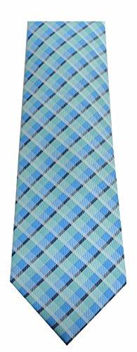Shimmer Klein Calvin (Calvin Klein Mens Silk Shimmer Neck Tie Green O/S)