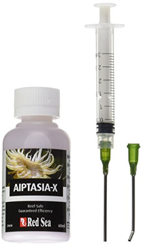 (Red Sea Fish Pharm ARE22231 Aiptasia-X Eliminator Kit for Aquarium, 2oz/60ml)