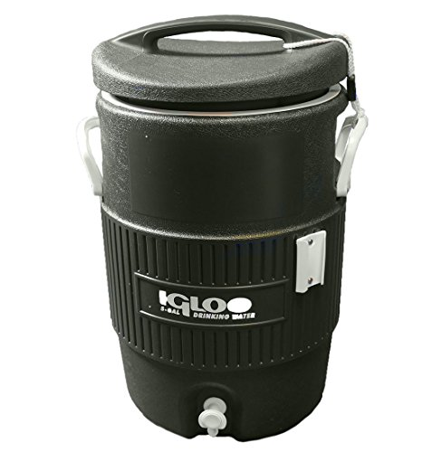 Tennis, Bocce, Golf Court Accessories - Water Coolers - 5 Gallon Igloo Cooler - Hunter Green - Replacement 5 Gallon Igloo Cooler