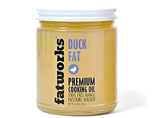 Duck Fat - 100% Pasture Raised - 8 oz