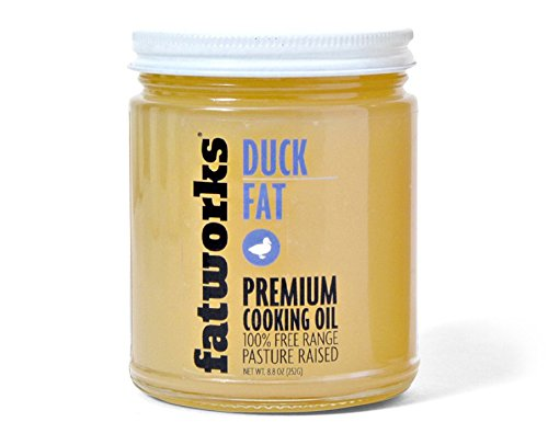 Duck Fat - 100% Pasture Raised - 8 - Oil Duck