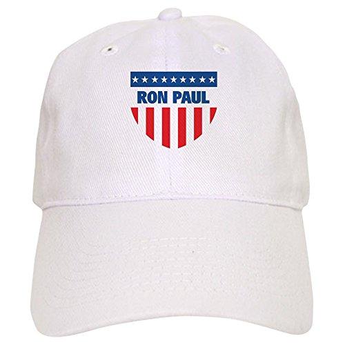 CafePress - Ron Paul 08 (Emblem) - Baseball Cap with Adjustable Closure, Unique Printed Baseball Hat White