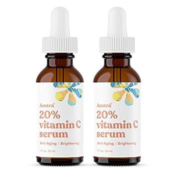ASUTRA Anti-Aging 20% Vitamin C Serum