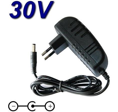 TOP CHARGEUR * Adaptador Cargador 30V Reemplazo Aspiradora Escoba Bosch Athlet 25V 25.2V / BBH625 M1 / BBH625 W60 / BBH6256P1 / BCH6256N1 / BCH65PET / BCH65RT25 / BCH6L2561 / BCH6Z OOO / VCH6 x TRM: Amazon.es: Electrónica