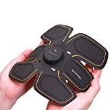 SIXPAD Japanese MTG (M Tea Gee) abs Fit for Abdomen + Twin Body Fit for Legs/arms/Waist - Get You Ripped Without Even Lifting a Finger by Providing Electric Shocks to Your Muscles - Black