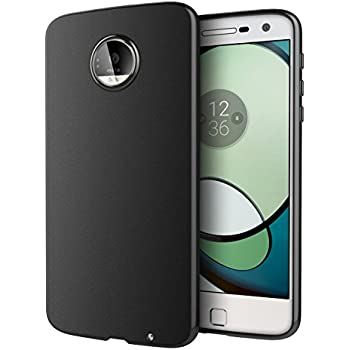 Moto Z Play Case, Cimo [Matte] Premium Slim Protective Cover for Motorola Moto Z Play Droid (2016) - Black