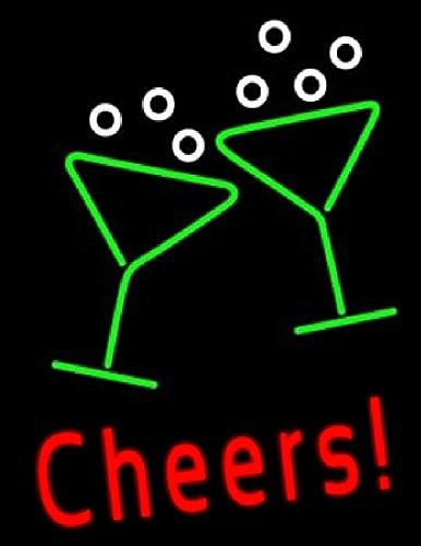 Cheers. Grande, edles Neon Neon Cartel Luz nocturna lámpara ...