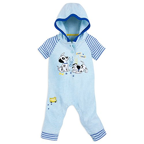 Disney Lucky and Patch Romper - 101 Dalmatians Size 9-12 MO Multi